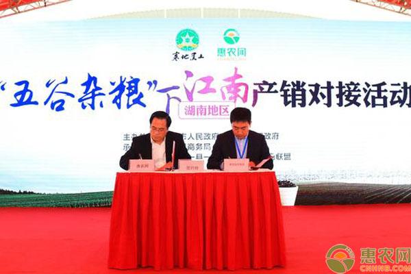 惠农网推广农产品