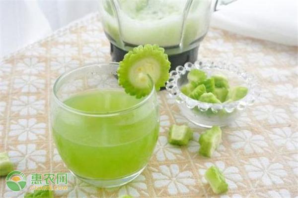 苦瓜汁可以治疗痱子吗?苦瓜汁抹痱子的功效与作用