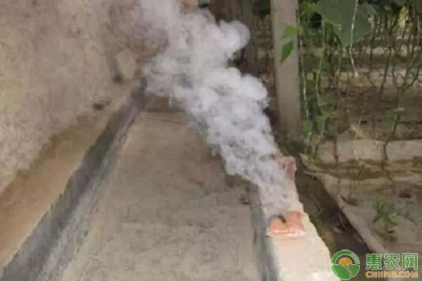 大棚烟雾剂的使用方法