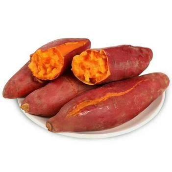 六鳌地瓜 【优选】六鳌红蜜薯礼盒中小果5斤装包邮20一25根