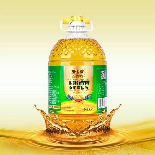 濟南玉米胚芽油  玉米清香調和油