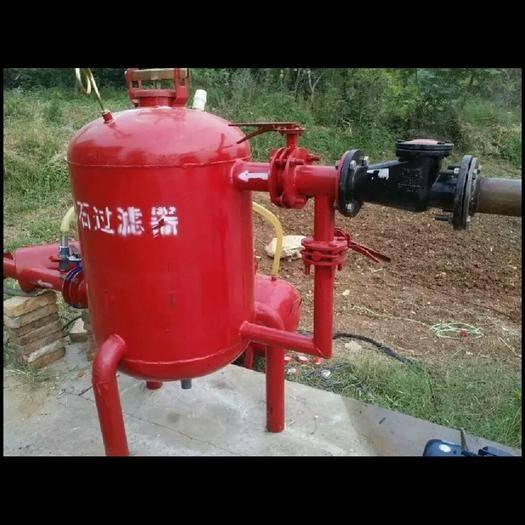 济南莱芜区砂石过滤器 过滤水中杂质保护滴灌喷灌系统,适合河水、湖水池塘水过滤需求