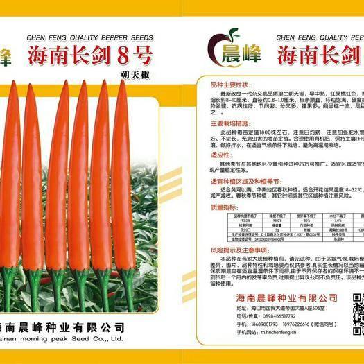海口 海南长剑8号——朝天椒种子,厂家直销