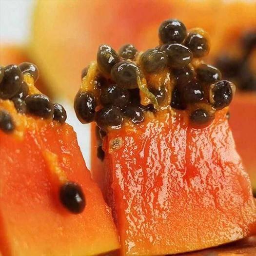 紅河蒙自市 云南紅心木瓜帶箱10斤裝 一件代發壞果包賠常年供貨