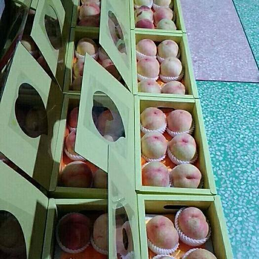 無錫惠山區陽山水蜜桃 60mm以上 八個裝凈重約五斤