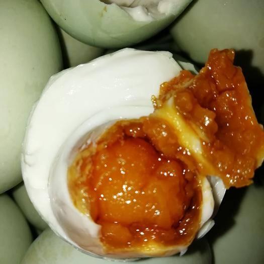 尉氏县农家咸鸭蛋 河南特产红油流油低盐泥腌60克100枚咸鸭蛋