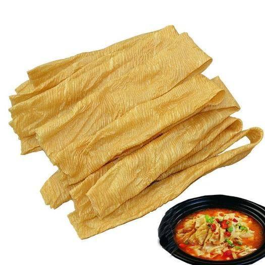 鄭州登封市豆腐皮 純黃豆加工豆皮蛋白肉素食干貨人造肉