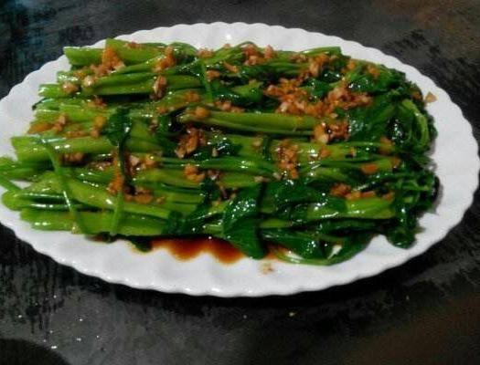 玉林博白县 博白空心菜国家地标性产品,远近闻名,历史悠久。