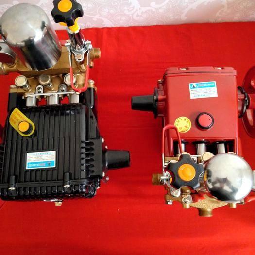 安国市 打药泵,柱塞泵。传动轴三缸四缸双鼎打药泵不锈钢柱塞机芯