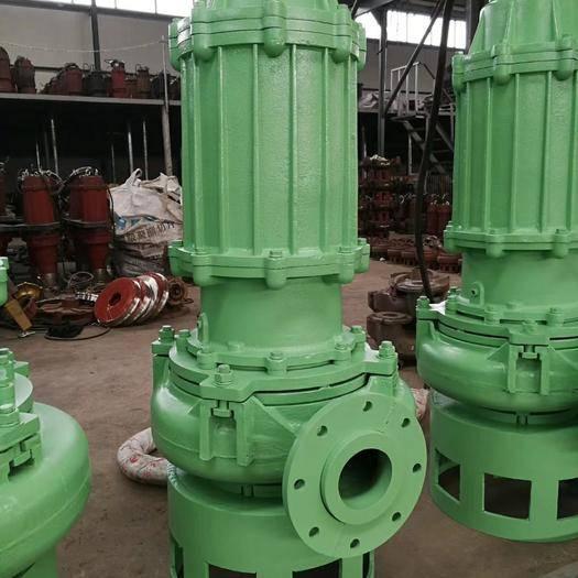 安国市 水泵。 精品排污泵,潜污泵带切割搅拌轮大流量,扬程高
