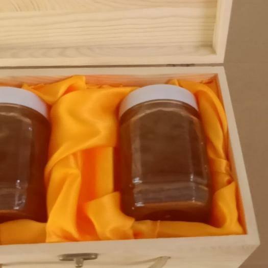 西双版纳景洪市 2020年纯天然蜂蜜正品土蜂蜜纯蜂蜜礼盒装《木盒》