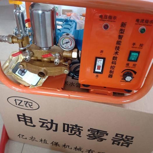 聊城东阿县打药车 48V60Ⅴ通用遥控变频高压直连打药机,压力可调大小