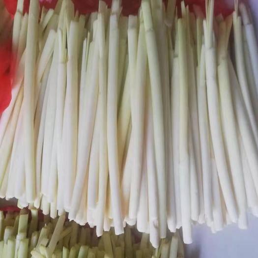 微山县 新鲜蒲菜,现剥现发。