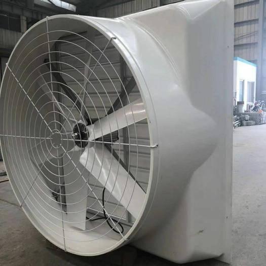 潍坊青州市养殖用排风扇 养殖排风扇防腐蚀降噪音风机厂家直销大功率风扇水帘降温设备