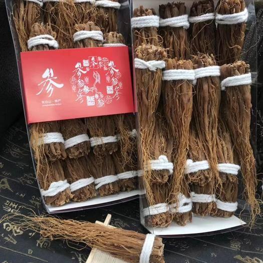抚松县红参 长白山须