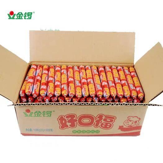 上海黃浦 金鑼口口福4斤裝好口?;鹜饶c煎炸麻辣燙手抓餅 整箱包郵