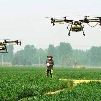 无人机农药喷洒,无人机喷洒,农作物好帮手