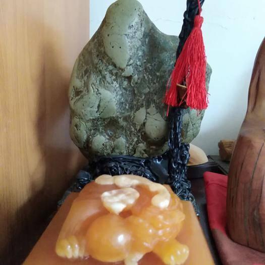 廣州從化區瑪瑙 大自然形象石,壽星公。