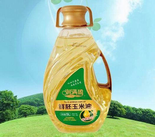 農安縣 5L×4桶 潤滿盈鮮胚玉米油 異形桶