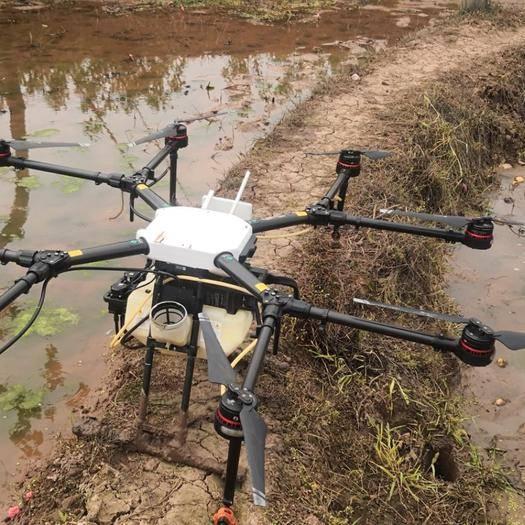 重庆市黔江区无人机农药喷洒 大疆无人机喷药