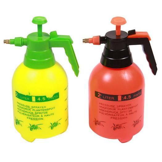 临沂兰山区水壶 压力塑料喷壶浇花气压彩色塑料喷壶