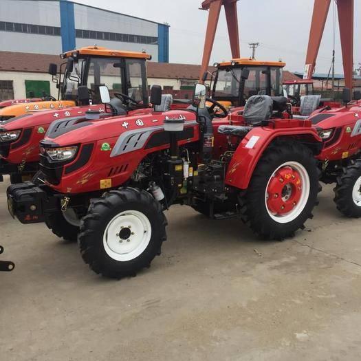 新泰市 504.604中型拖拉機 精品四驅四輪大馬力農用拖拉機省油