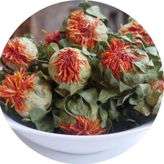 玉林玉州區 新疆清水過藥檢紅花-紅花花蕾