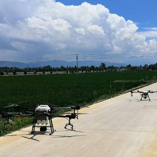 云南省昆明市盘龙区无人机农药喷洒 无人机植保服务