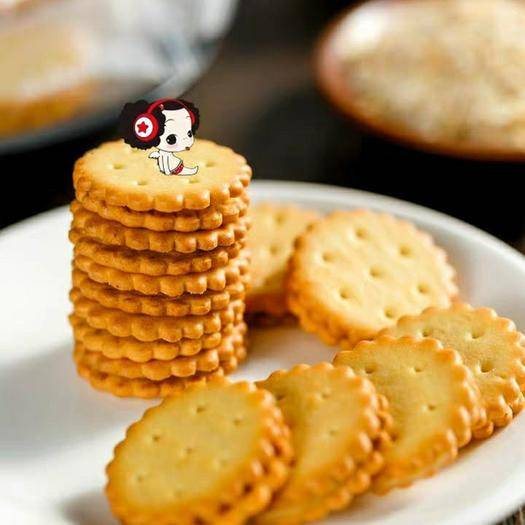 長沙岳麓區夾心餅干 冬己麥芽網紅餅干   咸蛋麥芽餅/黑糖麥芽餅 麥芽夾心餅