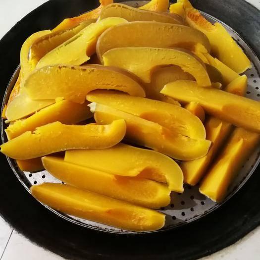 汉中城固县奶油南瓜 干,面,甜,可降三高是食疗的必备食材