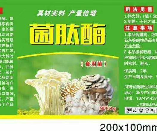 新乡辉县市鲜平菇 菌肽酶