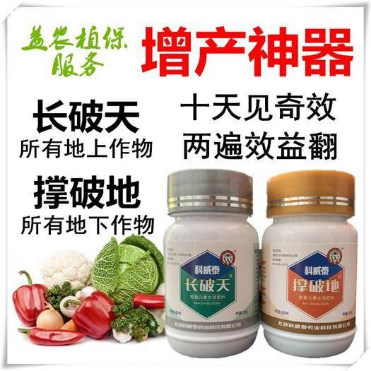 宁陵县膨大素 长破天撑破地提高品质增加产量草莓果树蔬菜山药土豆红薯花生萝卜
