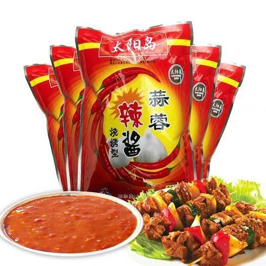 武漢麻辣醬 特香蒜蓉辣醬500g袋裝 燒烤麻辣燙批發超辣醬料30元包郵