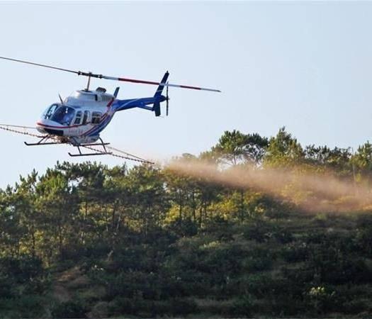 山东省济南市历城区无人机农药喷洒 直升机农药喷洒    直升机飞防  直升机物探