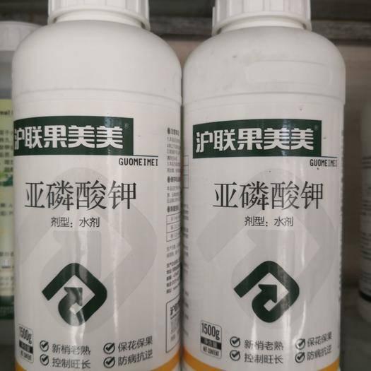 滨州 亚磷酸钾1500克控旺长保花果杀菌抗病膨大上色高磷高钾