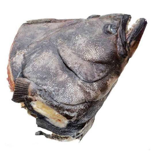 南通海门市 鱼头俄罗斯进口深海比目鱼海鲜新鲜碟鱼头滋补深海鱼头