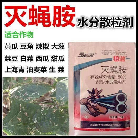 河南省商丘市宁陵县 店铺上新 猎潜 80% 灭蝇胺 高含量高防效一袋一桶水
