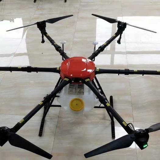 新疆维吾尔自治区伊犁哈萨克自治州奎屯市无人机农药喷洒 瑞飞16公斤无人机
