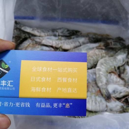 广州南美白对虾 马来西亚白虾