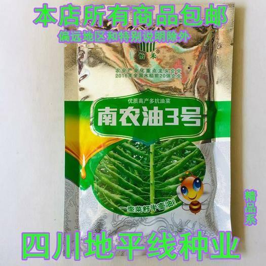南充嘉陵区紫油菜种子 南农油3号油菜种子