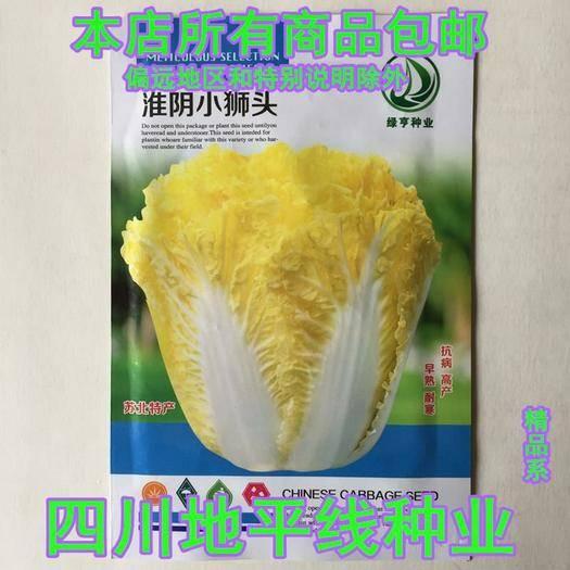 四川省南充市嘉陵区 白菜种子小狮头白菜种子红心白菜种子包邮