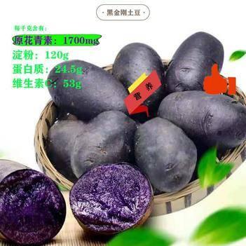 黑金刚土豆 花青素,抗突变,抗氧化
