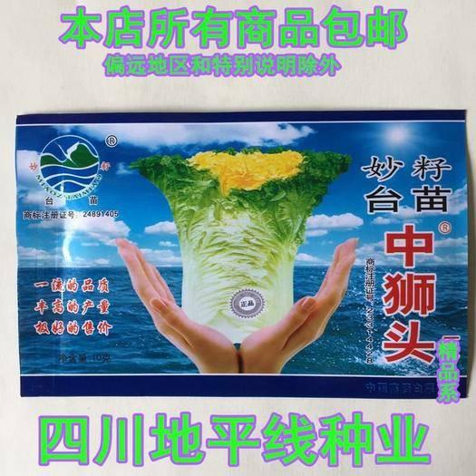 四川省南充市嘉陵区 白菜种子黄心白菜种子包邮