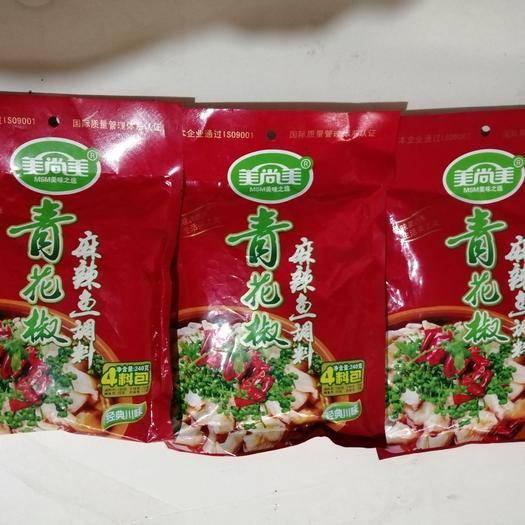 云南省曲靖市麒麟区水煮鱼料 青花椒麻辣鱼240g   40袋