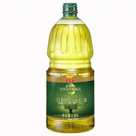 上海市浦东新区 金龙鱼食用植物调和油含10%特级初榨橄榄油1.8L