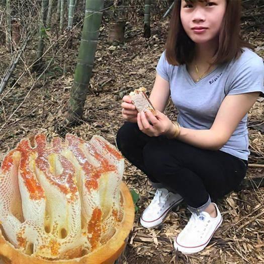 贵州省六盘水市水城县 蜂蜜正品【假一赔十】农家自产百花蜜天然纯正野生土蜂蜜500
