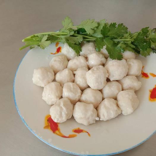 山东省威海市环翠区 渤海湾产墨鱼丸绿色食品无添加剂