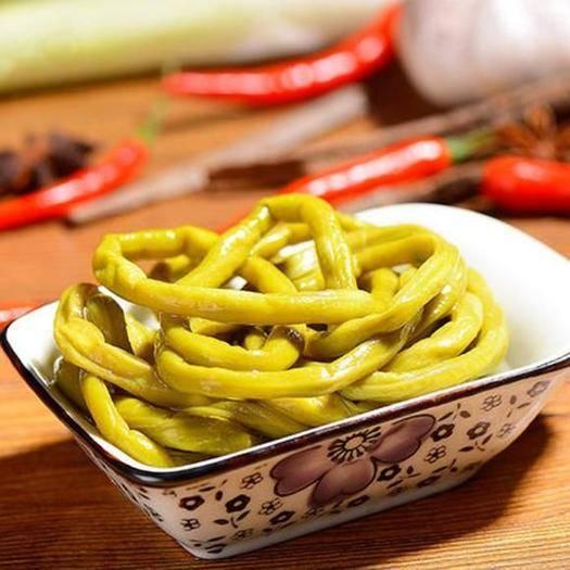 重庆市万州区腌制豆角 老坛酸缸豆