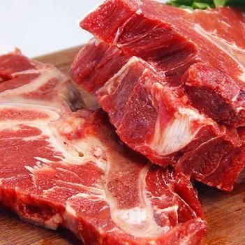 5斤牛脖骨带肉牛骨头牛肉冷冻生牛蝎子煲汤大骨头顺丰包邮