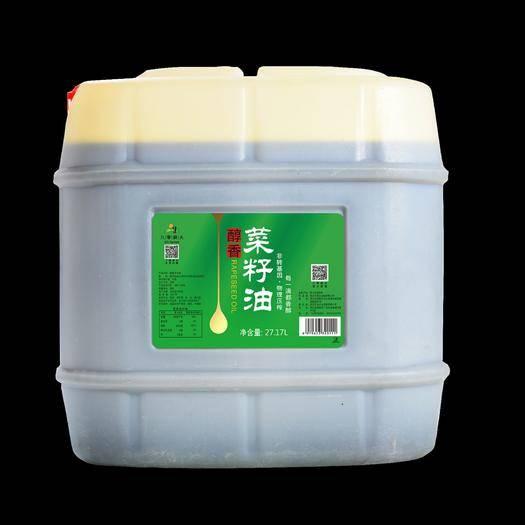 德陽廣漢市 菜籽油八零耕夫特香菜籽油50/桶 食用油 非轉基因物理壓榨